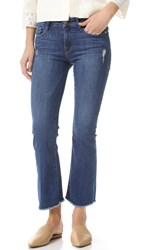 Frame Le Cropped Mini Boot Jeans Northmont