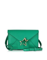 Corto Moltedo Tiffanini Mint Green Goatskin Leather Crossbody Bag