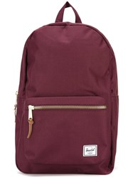 Herschel Supply Co. Zip Up Backpack Pink Purple