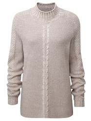 Henri Lloyd Audrey Roll Neck Knit Pink