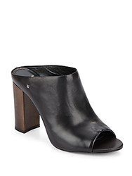 Vince Camuto Tad Leather Mules Nero