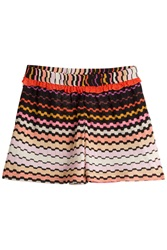 Missoni Mare Ruffled Printed Shorts Multicolor