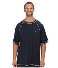 Speedo Easy S S Swim Tee Big Navy Men's Swimwear