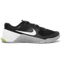 Nike Training Metcon 2 Mesh And Rubber Sneakers Black