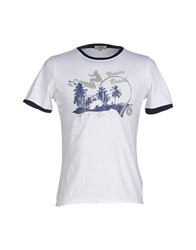 Geox Topwear T Shirts Men Dark Blue