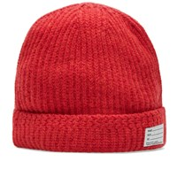 Visvim Wool Knit Beanie Red