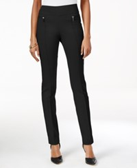 Styleandco. Style Co. Petite Skinny Pull On Pants Only At Macy's Deep Black