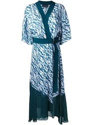 Ginger And Smart 'Colorado' Wrap Dress Green