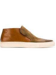 Buttero Classic Slip On Sneakers Brown