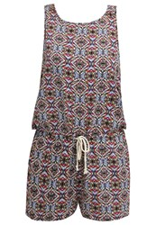 Teddy Smith Crakin Jumpsuit Multicoloured