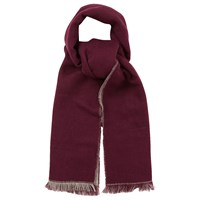 Oasis Double Faced Plain Scarf Multi Grey