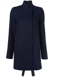Proenza Schouler Swing Coat Blue