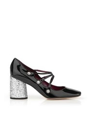 Marc By Marc Jacobs Mary Jane Courtney High Heels Black