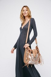Free People Womens Orion Leather Tote