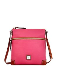 Dooney And Bourke Pebbled Leather Crossbody Bag Hot Pink