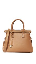 Maison Martin Margiela Leather Bag Camel