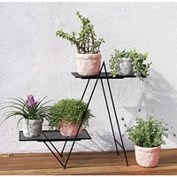 Angled Plant Stand Cb2