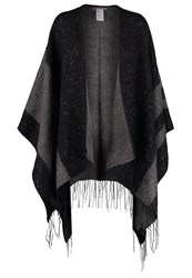 Anna Field Cape Blacl Grey Black