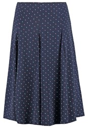 Louche Tatamoon Aline Skirt Navy Dark Blue