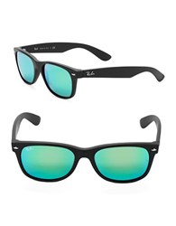 Ray Ban Wayfarer Sunglasses Black Green