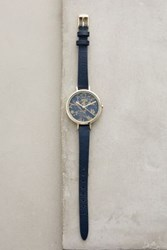Anthropologie Concord Watch Navy