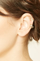 Forever 21 Etched Cutout Ear Cuff Set