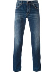 Dondup Five Pocket Slim Jeans Blue