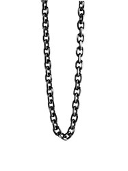 Guess Unchained Necklace Black