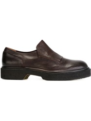 Roberto Del Carlo Chunky Loafers Brown