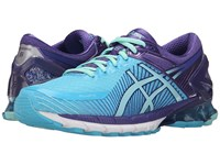 Asics Gel Kinsei 6 Turquoise Aqua Mint Purple Women's Running Shoes Blue