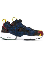 Reebok Plaid Slip On Sneakers Multicolour