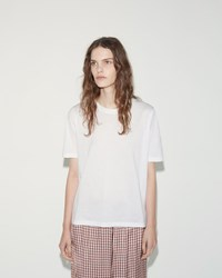 Aalto Moomin Back Embroidery Tee White