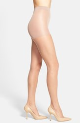 Calvin Klein Women's 'Ultra Bare Infinite Sheer' Control Top Pantyhose Nude