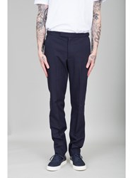 Folk Tailored Trousers Navy Blue