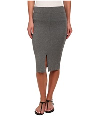 Lna Harley Slit Skirt Marengo Women's Skirt Gray