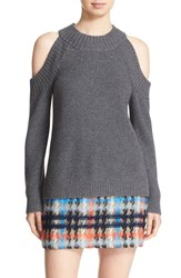 Milly Women's Cold Shoulder Crewneck Sweater