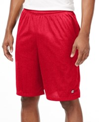 Champion Men's Mesh Shorts Red