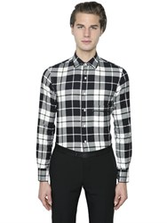 Gabriele Pasini Stretch Cotton Flannel Shirt
