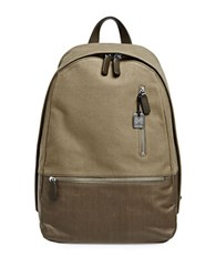 Skagen Kroyer Twill Heathered Backpack Olive