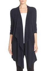 Women's Barefoot Dreams Drape Front Cardigan Indigo Midnight