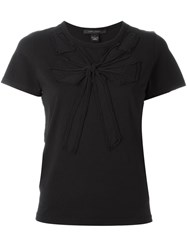 Marc Jacobs Bow Applique T Shirt Black