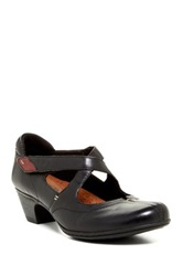 Cobb Hill Avery Mary Jane Leather Pump Black