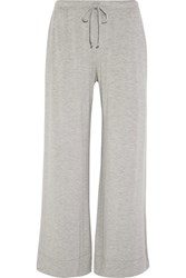Skin Stretch Jersey Pajama Pants Light Gray