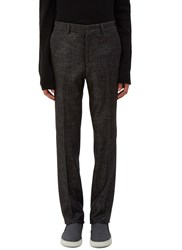 Fendi Two Tone Slim Leg Pants Grey