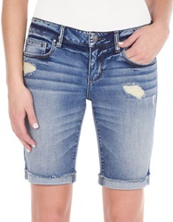 William Rast Denim Boyfriend Shorts Foxwood