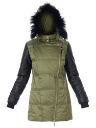 Relish Oxanta Long Padded Jacket Green