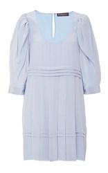 Rossella Jardini Short Dress Light Blue