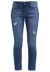 New Look Auth Slim Fit Jeans Blue Blue Denim
