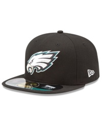 New Era Nfl Hat Philadelphia Eagles On Field 59Fifty Fitted Cap