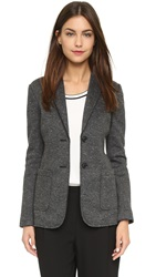 Atm Anthony Thomas Melillo Bonded Sport Blazer Charcoal Speckled
